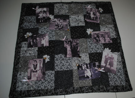 how to make memory photo quilt : making a memory quilt - Adamdwight.com