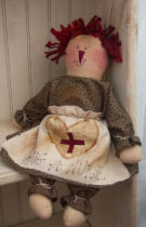 How to make muslin dolls, sewing dolls information.