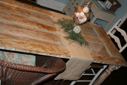Trash To Treasure An Old Wooden Door Picked From The