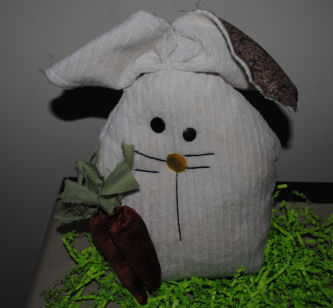Drake the bunny is a charming addition to my handmade bunny collection and now you can make him too with our tutorial for Drake.