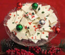 How to make homemade peppermint bark Christmas candy.