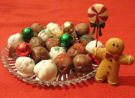 Christmas Candy - How to make chocolate covered cake balls recipe.