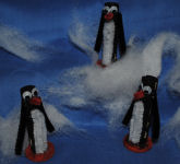 Clothespin penguin family craft to make!