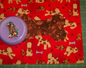Handmade pet project: How to sew a placemat for your pup!