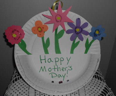 A kids craft project for mothers day how to make paper flowers a kids craft project for mothers day how to make paper flowers basket craft for mightylinksfo
