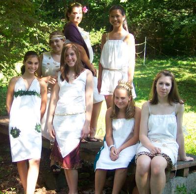 re grecian themed bridal shower