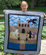Applique quilting information like how to sew an applique quilt.
