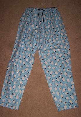 Making pajama pants with an elastic waistband is one of the first and easiest project to sew!