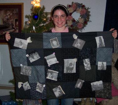how to make a memory quilt, how to make a photo quilt, learn to ... : how to make memory quilts - Adamdwight.com