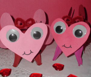 Valentine's Day Arts & Crafts Project for Kids, How to make love ...