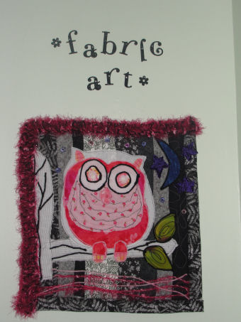 Fabric art found in Love to Sew Studio in Chadds Ford PA.