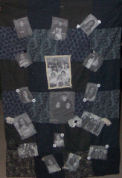 Memory quilts are a creative way to display your family photographs, learn how to make a memory quilt.