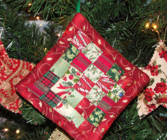CHRISTMAS ORNAMENT PATTERN QUILTED | Patterns For You