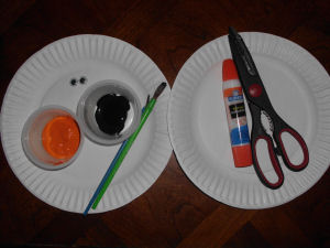 Kids Crafts how to make a paper plate penguin. & Fun Winter Crafts to make with Kids Paper plate penguin project to ...