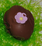 Homemade Chocolate Covered Peanut butter Easter Egg Recipe.