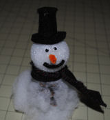 Pinecone Snowman crafts for kids to make.