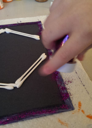 Fall Arts And Crafts Project For Kids Q Tip And Cotton