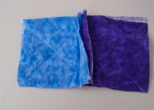 Step-by-step instructions on how to sew a rag quilt.