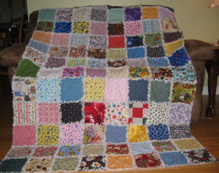 Rag Quilt Patterns - Free Quilt Patterns from FreeQuilt.com
