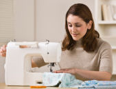 Learn about the parts of the sewing machine, cleaning a machine, maintaining a machine and leads you into areas like pinning, pressing, learning to sew.