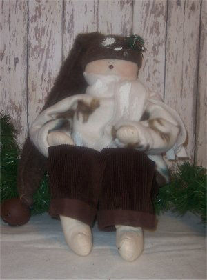 This is my favorite snowman doll and he is so easy to sew! I love his corduroy pants.