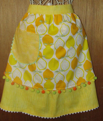 Slice of Summer handmade apron, crafts, and projects.