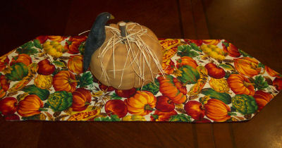 How To Make A Table Runner, Sewing A Reversible Table Runner, Learn To Sew