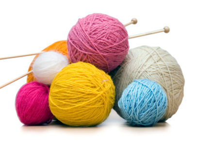One of the best things about knitting is working with lots of beautiful colors of yarn!