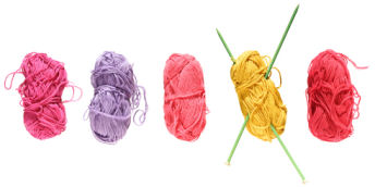 Finding yarn for your knitted projects.