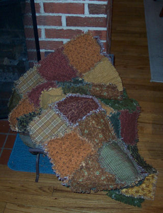 Making A Rag Quilt How To Make A Rag Quilt Free